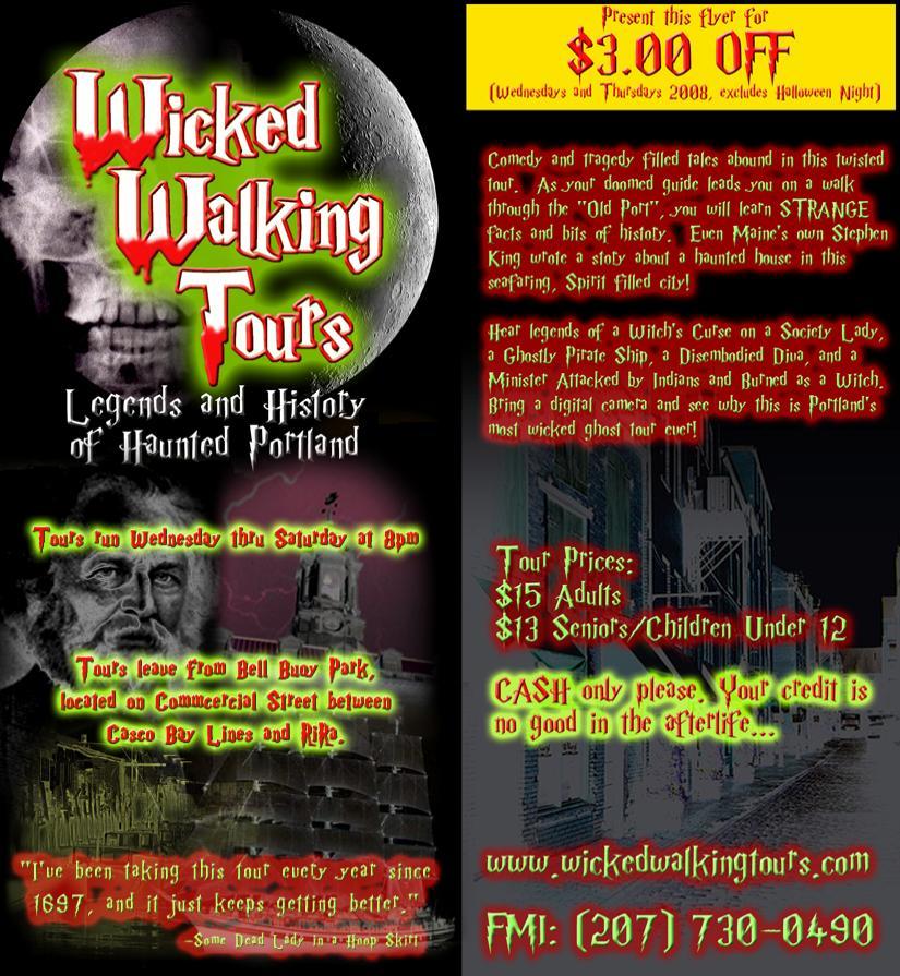Haunted Walking Tour Portland